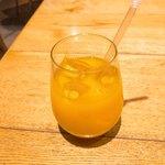 マカロニ - オレンジジュース
