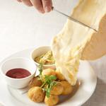 サンジのおれ様レストラン - ラクレットチーズ単品\300(税込)