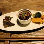 チャヤマクロビ - 前菜3種盛り