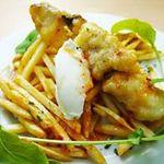 コマツ プルミエ - 本日鮮魚のフィッシュ&チップス