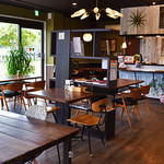 カフェ ルア ルア - 外にはオープンテラスがあり目の前はドッグランになています
