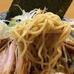中華そば多賀野 - 特製酸辛担麺 麺リフト(1,020円) 2018.1