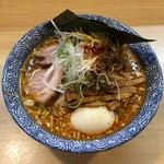 中華そば多賀野 - 特製酸辛担麺(1,020円) 2018.1