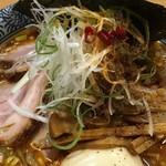 中華そば多賀野 - 特製酸辛担麺 トッピングアップ(多賀野) 2018.1