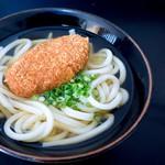 松下製麺所 - 初めて食べました。