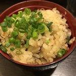 ラーメン櫻島 - ミニ炊き込みご飯
