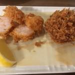 洋食・ワイン フリッツ - えびかつ、メンチカツ