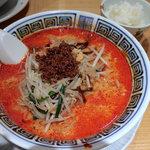 希須林 担々麺屋 - 担々麺・4辛(980円)+ライス(サービス)