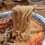 79958505 - 担々麺・4辛(980円)+ライス(サービス)