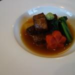 中村孝明貴賓館 - 強肴:黒毛和牛香味焼き