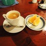 小古食堂 - コーヒー、グレープフルーツ