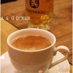 エー アンド ジーダイナー - アメリカンコーヒー