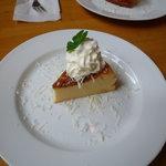 カフェ アリス - チーズケーキ