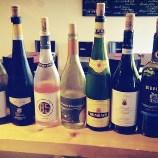 イタリア、日本をはじめ各地の美味しいワイン