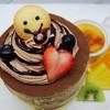 2月1日~28日限定『カシスチョコパンケーキセット』