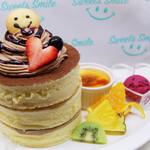 Sweets Smile - 2月限定のパンケーキ『カシスチョコパンケーキ』は雑誌でも紹介されました!