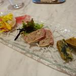 レジーナ イタリアーナ - 三種の前菜の盛り合わせ