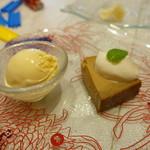 レジーナ イタリアーナ - デザートの盛り合わせ
