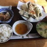 ぴかる - 天ぷら定食1100円