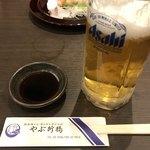 やぶ新橋店 - 料理写真:生ビール