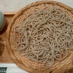 小松庵 - 生粉打ち蕎麦はもう少し細くしてほしい