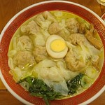 広州市場 - ワンタン麺@800