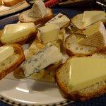 大正倶楽部 - チーズの盛り合わせ