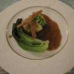 Bistro R - 肉料理。黒毛和牛と地野菜たっぷり