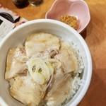 和だしらぁめん うめきち - 煮豚めし 350円