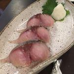 とろさば料理専門店 SABAR - 鯖にぎり寿司 3 貫  626円