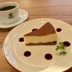 緑と風の珈琲館 ウミノ - ケーキセット 788円