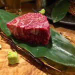 日本橋イタダキ - 今日のオススメ  神戸牛   ランボソステーキ 3,500円