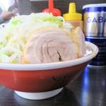 ラーメン二郎 - 料理写真:小ラーメン+野菜増しニンニク増し増し