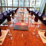 盤古殿 - ビッグ一枚板テーブル席4320×1200×120サイズ