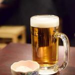 居酒屋のぶさん - 生ビール@180円