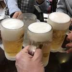 ちょもらんま - 全員揃って、再度乾杯!