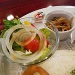 79976808 - サラダと小鉢