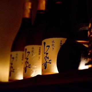 グラスを傾け過ごす夜のお供に、選りすぐりの焼酎20種類