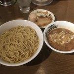 つけめんTETSU - 特製あつもり1,120円+麺の特盛150円