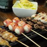 串ザンマイ - 串盛りアップ