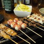 串ザンマイ - 串盛り