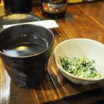 串ザンマイ - 焼酎+付け出し