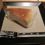 スリーピークスカフェ - チーズケーキ