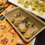 グッドスプーン - 牡蠣燻製のガーリックオイル