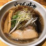 利尻らーめん味楽 - ミニ焼き醤油ラーメン