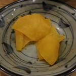 相州蕎麦 - 香の物