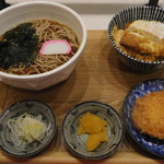 相州蕎麦 - 注文した品々
