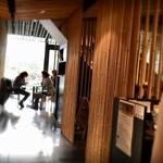 寿月堂 - カフェ入口