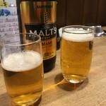 徳田酒店 - 瓶ビール!