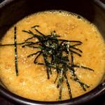 肉炉端 清田屋 - 卵かけご飯